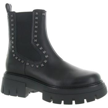 Chaussures Femme Bottines Ash LENNY STUDS Noir