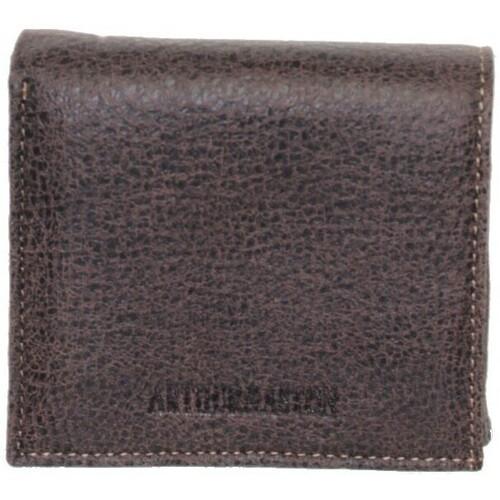 Sacs Homme Porte-monnaie Arthur & Aston Porte-monnaie Arthur et Aston en cuir ref_ast37386 MARRON