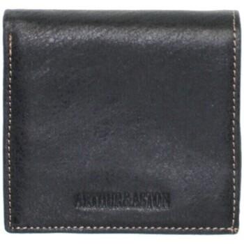 Porte-Monnaie Arthur aston porte-monnaie arthur et aston en cuir ref_ast37386-noir