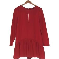 Vêtements Femme Combinaisons / Salopettes Zara Combi-short  36 - T1 - S Rouge
