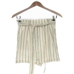 Vêtements Femme Shorts / Bermudas Bershka Short  36 - T1 - S Blanc