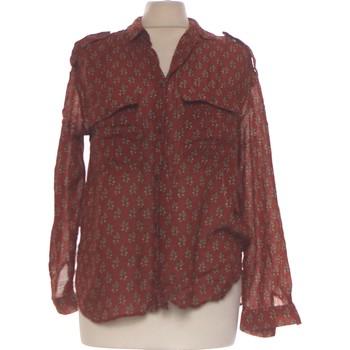 Vêtements Femme Chemises / Chemisiers Mango Chemise  34 - T0 - Xs Marron