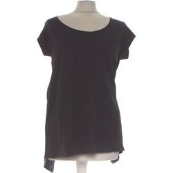 Vêtements Femme Tops / Blouses Zara Top Manches Courtes  38 - T2 - M Gris