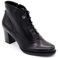 Chaussures Femme Boots Regarde Le Ciel parker-04 Noir