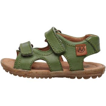 Chaussures Sandales et Nu-pieds Naturino SKY-sandale en cuir vert