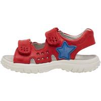 Chaussures Garçon Sandales sport Naturino DOCK-sandale en cuir rouge