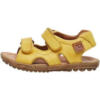 Chaussures Sandales et Nu-pieds Naturino SKY-sandale en cuir jaune