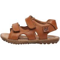 Chaussures Sandales et Nu-pieds Naturino SKY-sandale en cuir marron