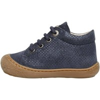 Chaussures Fille Derbies Naturino COCOON-chaussure cuir marine