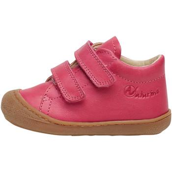 Chaussures Baskets mode Naturino COCOON VL-petites chaussures premiers pas en cuir nappa fuchsia