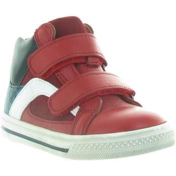 Chaussures Garçon Baskets montantes Acebo's 3174 Rouge