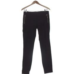 Vêtements Femme Chinos / Carrots Zara Pantalon Slim Femme  36 - T1 - S Noir