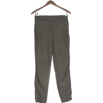 Vêtements Femme Chinos / Carrots Grain De Malice Pantalon Droit Femme  34 - T0 - Xs Noir