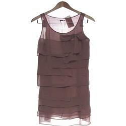Vêtements Femme Robes courtes Grain De Malice Robe Courte  36 - T1 - S Marron