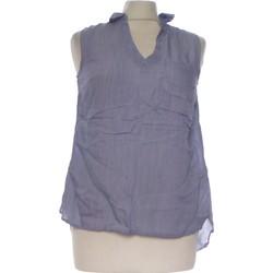Vêtements Femme Débardeurs / T-shirts sans manche Grain De Malice Débardeur  36 - T1 - S Bleu