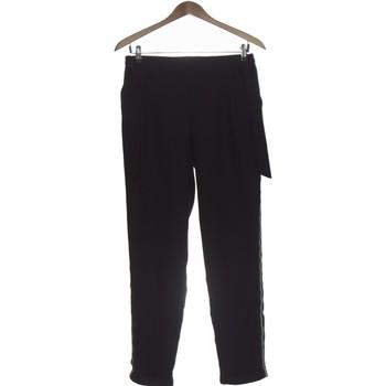 Vêtements Femme Pantalons fluides / Sarouels Grain De Malice Pantalon Droit Femme  36 - T1 - S Noir