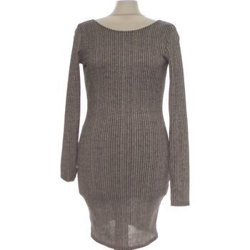 Vêtements Femme Robes courtes Mosquitos Robe Courte  38 - T2 - M Gris