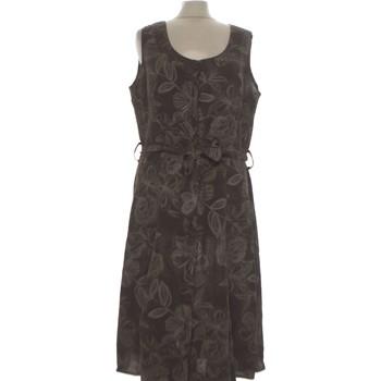 Vêtements Femme Robes longues Burton Robe Mi-longue  38 - T2 - M Marron