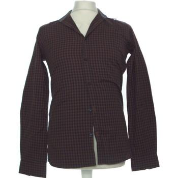 Vêtements Homme Chemises manches longues Father And Sons Chemise Manches Longues  36 - T1 - S Marron