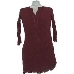 Vêtements Femme Robes courtes Camaieu Robe Courte  36 - T1 - S Marron