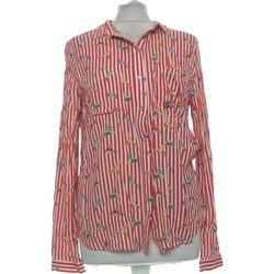 Vêtements Femme Chemises / Chemisiers Cache Cache Chemise  36 - T1 - S Rouge