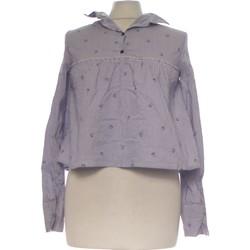 Vêtements Femme Tops / Blouses Bershka Blouse  34 - T0 - Xs Bleu