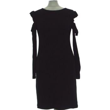 Vêtements Femme Robes longues Bershka Robe Mi-longue  38 - T2 - M Noir