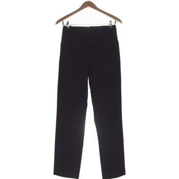 Vêtements Femme Chinos / Carrots Uniqlo Pantalon Droit Femme  34 - T0 - Xs Bleu