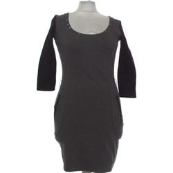 Vêtements Femme Robes courtes Bershka Robe Courte  36 - T1 - S Gris