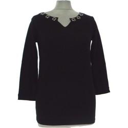 Vêtements Femme Pulls Jacqueline Riu Pull Femme  34 - T0 - Xs Noir