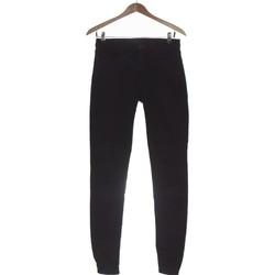 Vêtements Femme Jeans slim Uniqlo Jean Slim Femme  36 - T1 - S Noir