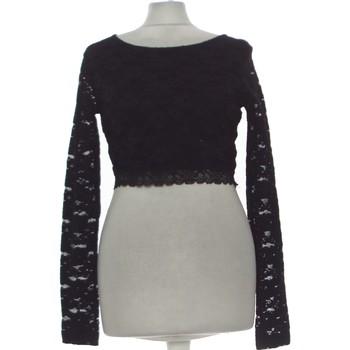 Vêtements Femme Tops / Blouses Forever 21 Top Manches Longues  40 - T3 - L Noir