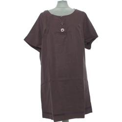 Vêtements Femme Robes courtes Jacqueline Riu Robe Courte  38 - T2 - M Marron