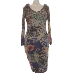 Vêtements Femme Robes longues Roberto Cavalli Robe Mi-longue  40 - T3 - L Gris
