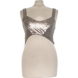 Vêtements Femme Débardeurs / T-shirts sans manche Zara Débardeur  36 - T1 - S Gris