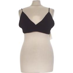Vêtements Femme Débardeurs / T-shirts sans manche Zara Débardeur  40 - T3 - L Noir