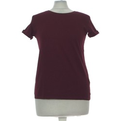 Vêtements Femme Tops / Blouses Bershka Top Manches Courtes  36 - T1 - S Violet
