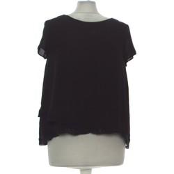 Vêtements Femme Tops / Blouses Zara Top Manches Courtes  36 - T1 - S Noir