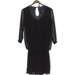 Vêtements Femme Robes courtes Bershka Robe Courte  36 - T1 - S Noir
