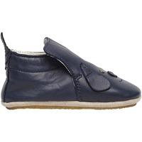 Chaussures Baskets mode Naturino DLIN-chaussons bébé à patch chien marine