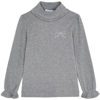 Vêtements Fille T-shirts manches longues Mayoral  Gris