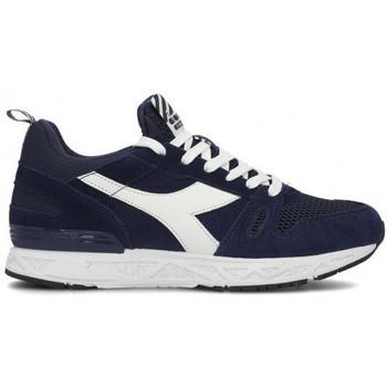 Chaussures Baskets basses Diadora Basket homme  bleu et blanche 501174834 Bleu