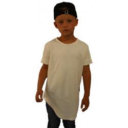 Vêtements Enfant T-shirts manches courtes Celebritees Tee-shirt junior Oversize Basic Blanc