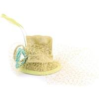 Accessoires textile Femme Chapeaux Léon Montane Coiffe Mariage Bugle en sisal Anis Vert