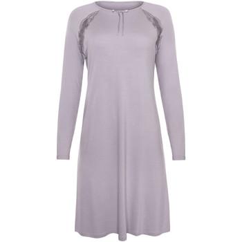 Vêtements Femme Pyjamas / Chemises de nuit Lisca Chemise nuit manches longues Ivette Gris