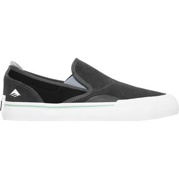 Chaussures Chaussures de Skate Emerica WINO G6 SLIP ON DARK GREY BLACK