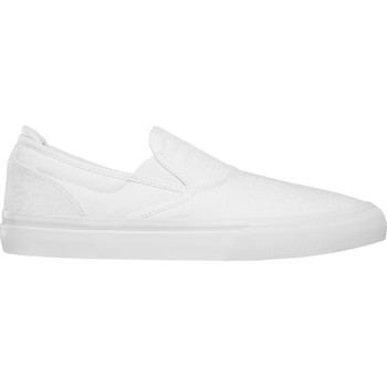 Chaussures Chaussures de Skate Emerica WINO G6 SLIP ON WHITE PRINT