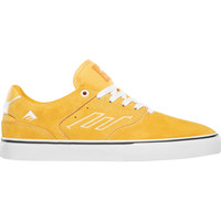 Chaussures Chaussures de Skate Emerica THE LOW VULC YELLOW WHITE