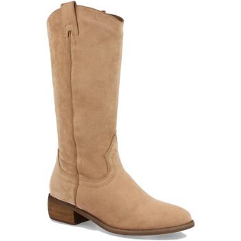 Chaussures Femme Bottes ville Buonarotti 1S-0513 Apricot
