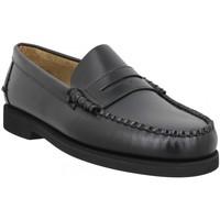Chaussures Homme Mocassins Sebago Dan Polaris W (Wide) cuir Homme Black Noir